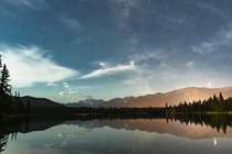 Fantastic view from Lake Edith in Jasper AB  x