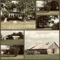 Farmhouse and barns belonged to my grandparents from - Sold at auction occupied for a couple of years then abandoned