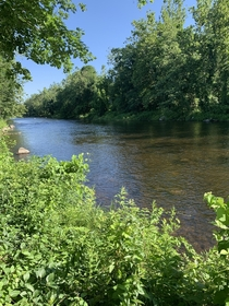 Farmington River New Hartford CT USA