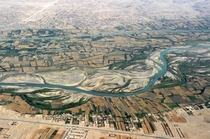 Farmlands of Kandahar Afghanistans second largest city