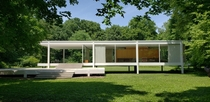 Farnsworth House near Chicago IL