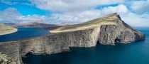 Faroe Islands - A lake terraced over the Ocean