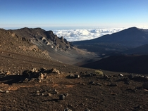 Feels like you are on Mars Haleakala Crater Maui Hawaii