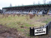 Feethams football stadium Unused since