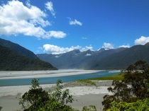 Felt almost prehistoric Haast Pass New Zealand  oc