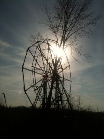 Ferris Wheel at the Chippewa Lake Amusement Park Chippewa Lake Oh