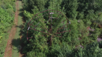 Ferris wheel in Chippewa Lake Park Ohio shot with my drone