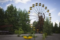 Ferris wheel in the Chernobyl Exclusion Zone
