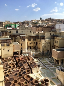 Fez and its tanneries Morocco