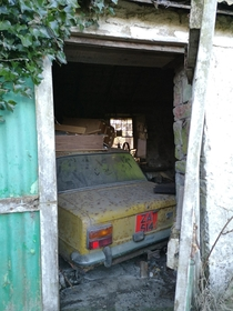 Fiat  Irish barn find  Not to be mistaken for a Lada