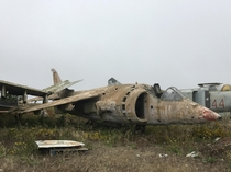 Fighter Jet Graveyard