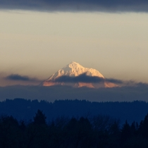 Finally got to use my mm lens This is Mount Hood OR