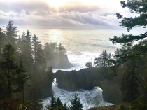 Finally made the trip down to Natural Bridges in Brookings Oregon