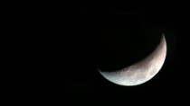 Finally the Weather Cleared Up Picture of the Moon taken with my phone through my telescope