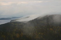 Finnish National Landscape at Koli National Park