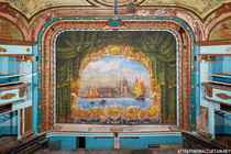Fire Curtain Abandoned Theatre - USA