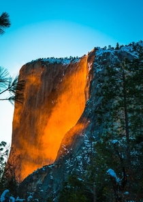 Firefalls in beautiful Yosemite CA One of the most incredible events I have ever witnessed OC x