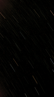 First attempt at a star trail