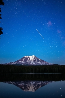 First attempt at astro Mt Adams WA