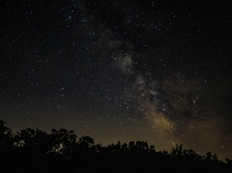First attempt at shooting the Milky Way - Belleplain State Forest New Jersey