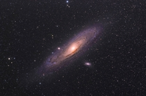 First attempt at the Andromeda Galaxy