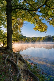 First day of Fall at Cuyahoga Valley National Park Ohio