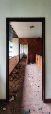 First floor of an abandoned home in Kuala Lumpur Malaysia