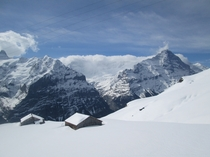 First Grindelwald Switzerland