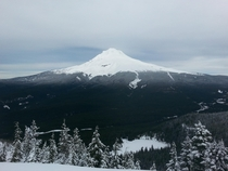 First hike after fathers cataract surgery what a sight Mt Hood OR