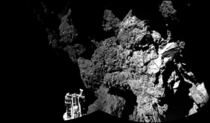First image from CIVA confirming that Philae is on the surface