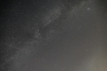 First intentional attempt at photographing the Milky Way