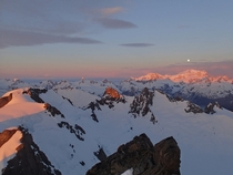 First Light on the Chilean Andes