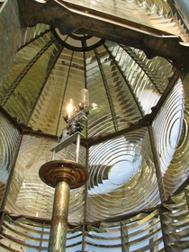 First order Fresnel lens Heceta Head Lighthouse