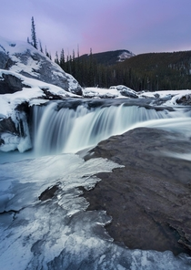 First post of the new decade for me Elbow Falls in Alberta Canada
