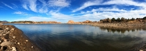 First post Panorama from a spur-of-the-moment hiking trip in Prescott Valley Arizona