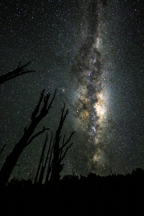 First real attempt at night photography really proud of the results Diamond lake New Zealand