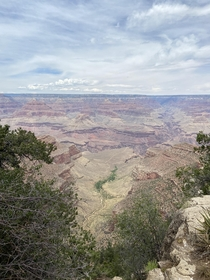 First time at the Grand Canyon Pictures did not do it justice