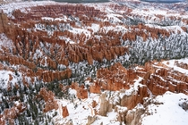 First time hiking in the snow Bryce Canyon UT