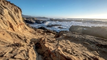 First time in California and the coast took my breath away Near Ao Nuevo State Park CA