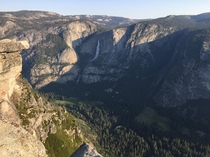 First time in Yosemite to witness this beauty at Glacier Point
