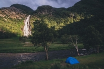 First time wild camping Glen Nevis Scottish Highlands