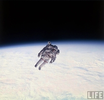 First Unteathered Spacewalk Bruce McCandless II