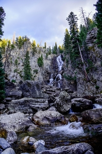 Fish Creek Falls without a Supermoon