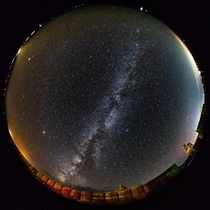 Fisheye Milky Way Happy with the turnout Sean Kintzle