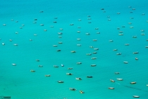Fishing Boats off the Coast of Gwadar Balochistan Pakistan