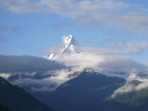Fishtail Mountain Annapurna Nepal