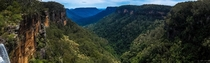 Fitzroy Falls and Yarrunga Creek valley Australia