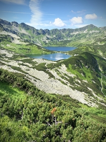 Five Polish Ponds Valley in Zakopane Poland
