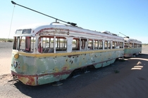 Fixed rail streetcars used in El Paso until
