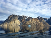 Fjord in Greenland  x